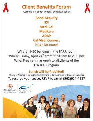 Benefits Forum Flyer
