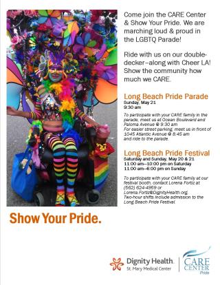 Pride Flyer 2017
